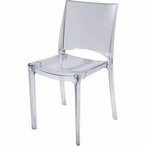 Chaise En Verre : chaise de jardin en polycarbonate paris lux transparent leroy merlin ~ Teatrodelosmanantiales.com Idées de Décoration