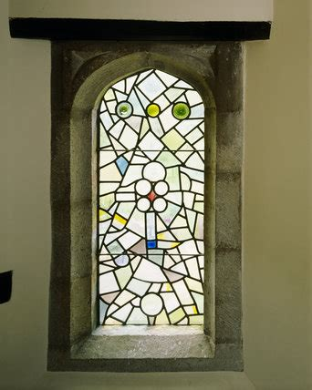 art nouveau stained glass window   staircase