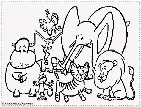 zoo coloring pages    zoo coloring pages