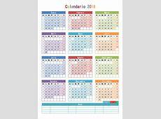 Calendario 2018 para Imprimir Anual, Mensual, Escolar, Infantil y Lunar Información imágenes