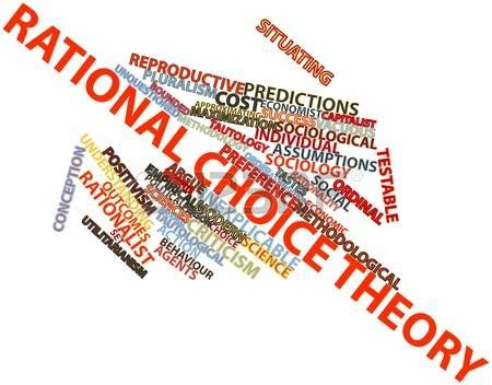critique  rational choice theory  pillars institute