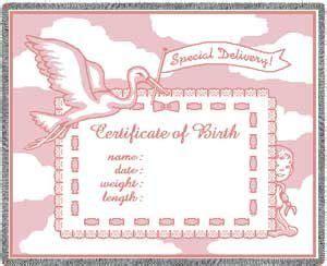 birth certificate graphic templates baby boy google