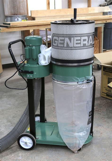 general internationals  dust collector popular woodworking magazine