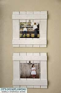 DIY Repurposed Wood Frames