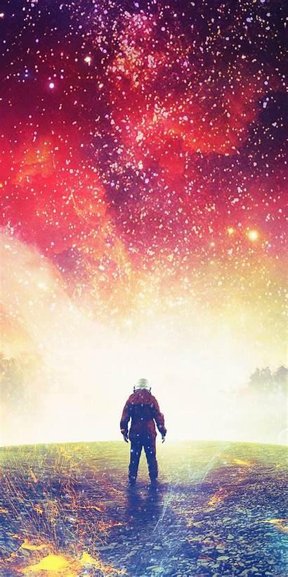 Space Surreal Fantasy Astronaut Cosmos