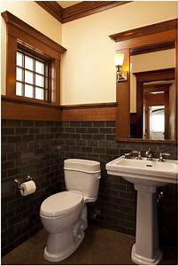 best craftsman bathroom sinks ideas only on pinterest With kitchen colors with white cabinets with arts and crafts wall sconce