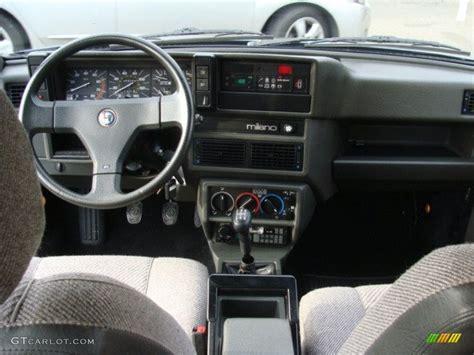 1987 Alfa Romeo Milano Silver Grey Dashboard Photo ...