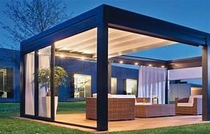 Pergola Metall Terrasse : ber ideen zu pergola metall auf pinterest terrassen berdachung berdachung terrasse ~ Sanjose-hotels-ca.com Haus und Dekorationen