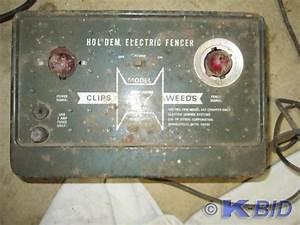 Hol Dem Model 57 Electric Fence Cha