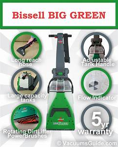 Cleaning Carpets With Bissell Big Green
