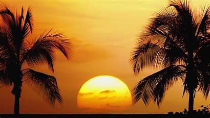 Sunset Desktop Beach Background Wallpapers Amazing Pixelstalk