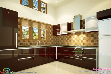 modern interior concepts house kerala home design  floor plans