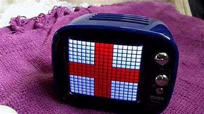 Pixel Retro Tv Animated Divoom Tivoo Grid