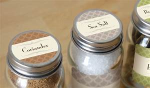 custom spice labels and jar labels stickeryou products With custom made labels for jars