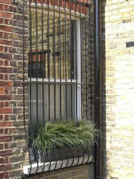 window bars installed  brown security installations