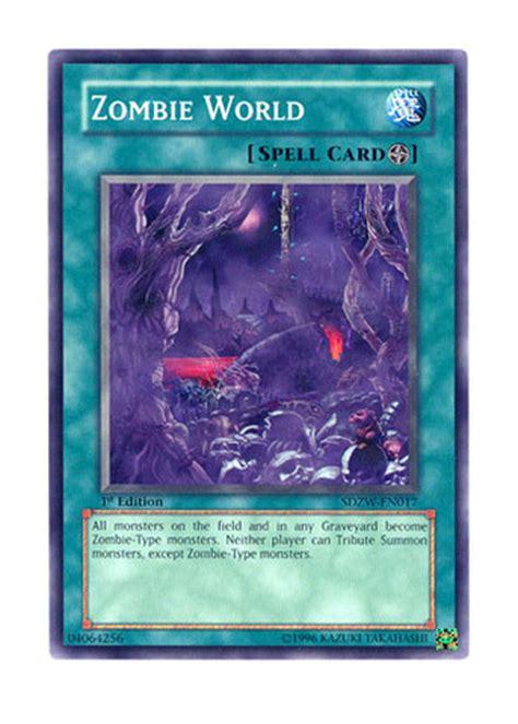 Zombie World  Sdzwen017  Common  1st Edition Yugioh