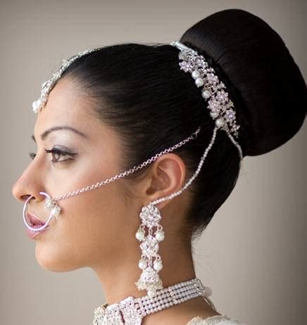 indian style hair accessories indian bridal hairstyles bridal wears