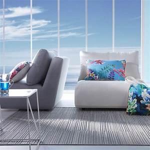 le tapis d39exterieur la nouvelle tendance pour votre With tapis exterieur avec canapé en alcantara