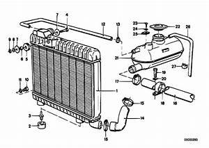 Original Parts For E21 323i M20 Sedan    Engine   Radiator