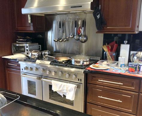 how to install a kitchen backsplash thor kitchen stoves professional stainless steel ranges
