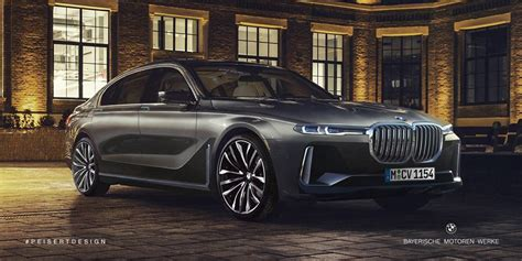 New Bmw 7 Series by Facelift Bmw 7 Series Rendered Using X7 Styling Cues