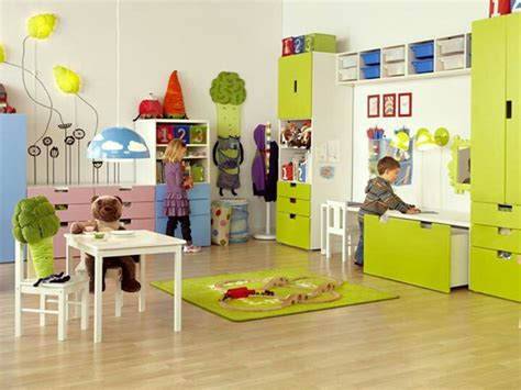 Ideas For Kids Playrooms by Yellow Kids Playroom Ideas