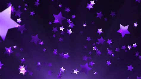 Purple Background Purple Glittering And Sparkling Fly Across