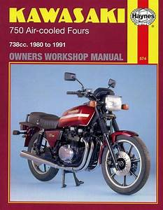 Kawasaki Gpz750  Kz750  Z750  Zx750 Fours Repair Manual