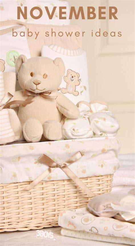 November Baby Shower Theme Ideas - ideas for a november baby shower 3 boys and a