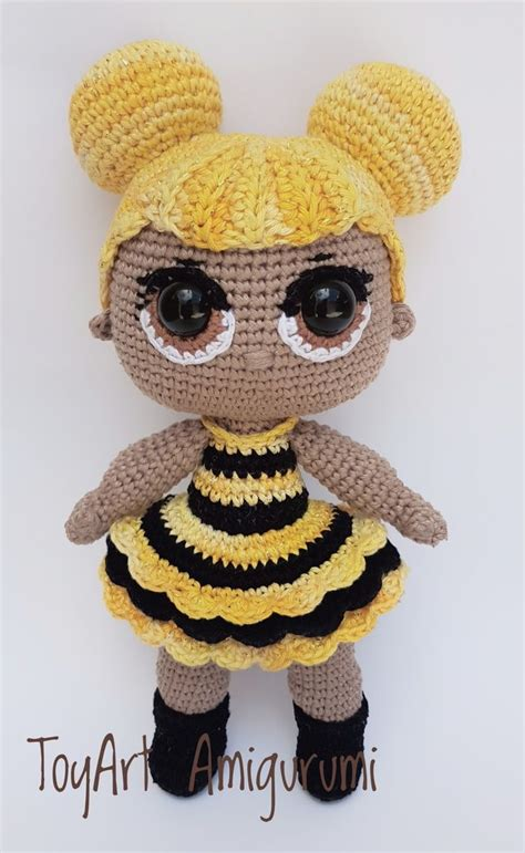 receita em  boneca abelha baseada na lol modelos