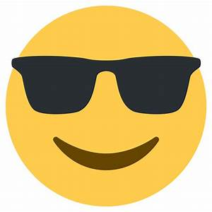 Transparent Sunglasses Emoji   www.imgkid.com - The Image ...