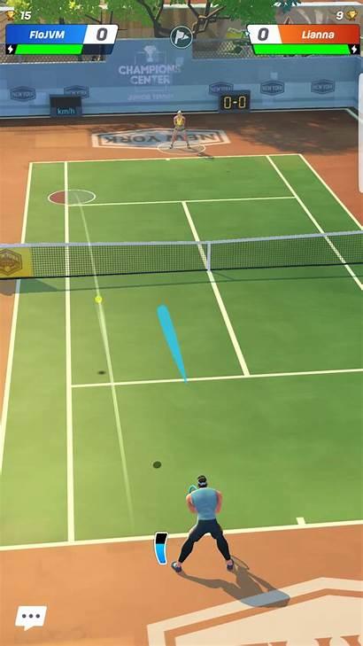 Tennis Clash Jeux Android Test Vie