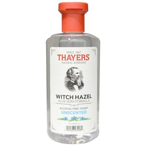 witch hazel image thayers witch hazel aloe vera formula alcohol free toner unscented 12 fl oz 355 ml