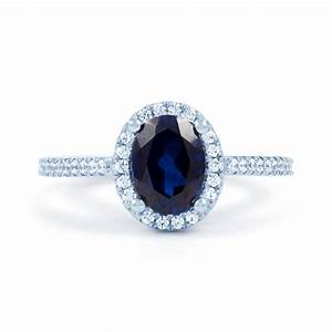 blue sapphire engagement ring sapphire engagement rings With wedding rings with blue