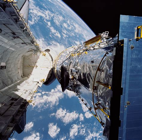 April 25, 1990, Deployment of the Hubble Space Telescope ...