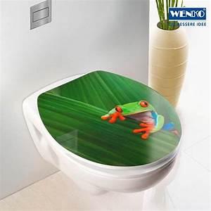 Wc Sitz Acryl Absenkautomatik : wenko 20811100 wc sitz hochglanz acryl frog mit absenkautomatik kunststoff acryl 38 x 45 ~ Bigdaddyawards.com Haus und Dekorationen