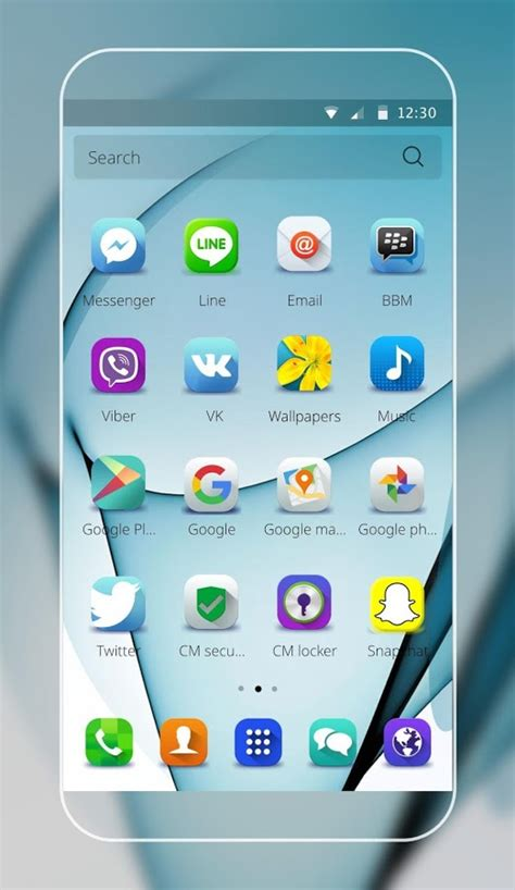 Theme for Samsung S7 edge for Android Free download and