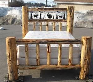 Log Beds, Log Bunk Beds, Cedar Log Beds, Rustic Log Beds