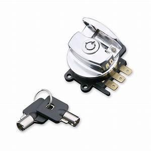 J U0026p Cycles U00ae Chrome Side Hinge Ignition Switch