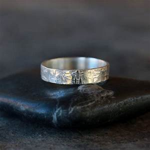 viking ring sterling silver men39s wedding band hammered With viking wedding rings