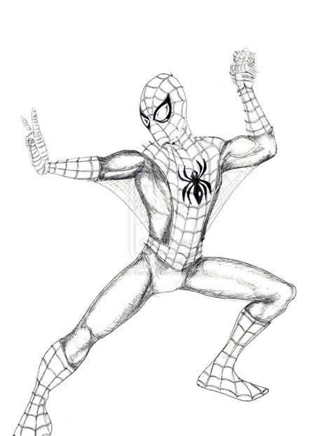 disegni da colorare  spiderman  fredrotgans