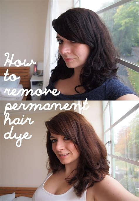 remove color from hair to remove permanent hair dye and how to remove on