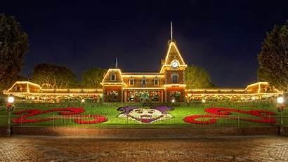 Disneyland Desktop Christmas Wallpapersafari