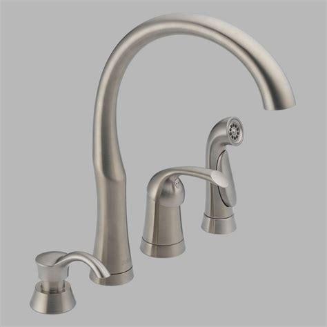 delta bellini kitchen faucet delta bellini 11946 sssd dst single handle kitchen faucet