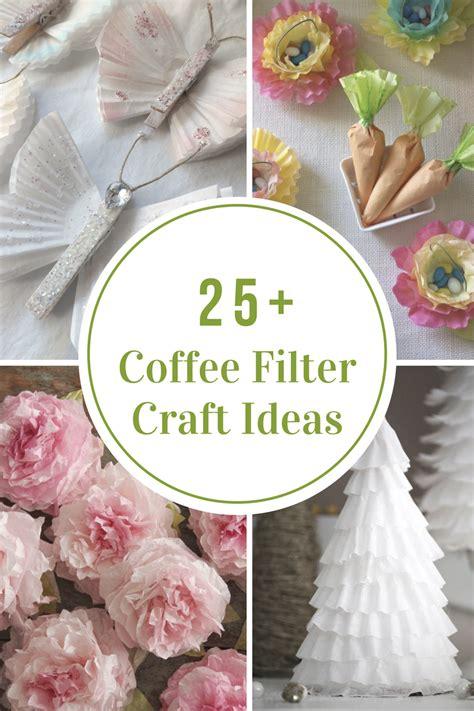 coffee filter craft ideas  idea room