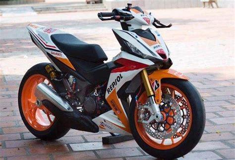 Modifikasi Motor Honda Supra by Modifikasi Honda Supra Gtr150 Beraroma Moge Otobandung