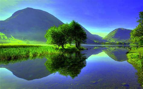 hd calm lake wallpaper