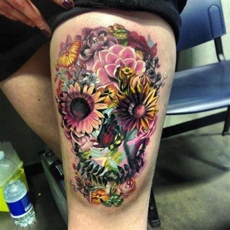 cool sugar skull tattoos