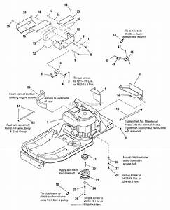Murray 7800577  42 U0026quot  Mower Deck  2009  Parts Diagram For
