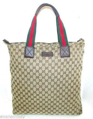 vintage gucci tote handbags purses ebay